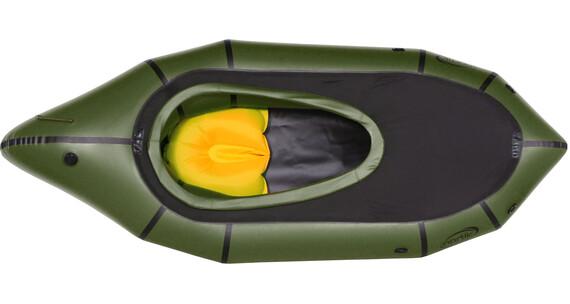 nortik TrekRaft rubberboot met kap olijf